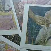 Metropolitan Seminars in Art  Fresco 1958 12 Color Prints