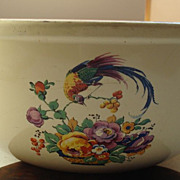 Homer Laughlin Bird Of Paradise Mixing Bowl