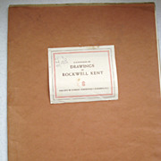 Rockwell Kent Portfolio of Drawings Schering Corp  1944