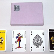 Double Deck Waddington Playing Cards, Shakespeare Quadracentennial, c.1964