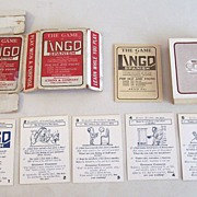 Atkins & Company �Lingo Spanish� Card Game, Centaphrase Society Copyright, c.1916