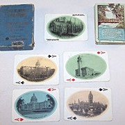 Chicago, Milwaukee & St. Paul Railway �Minehaha Falls� Railroad Souvenir Playing Cards, Inter