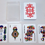 F.X. Schmid �Happy Playing Cards,� Doris Tusch Designs, c.1966
