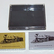 Double Deck �Soo Line� Railroad Playing Cards, Commemorative 100th Anniversary Engine No.1, c