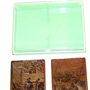 Double Deck Brown & Bigelow (Redi-Slip) �Lionel Barrymore Gold Foil Etchings� Playing Cards, �