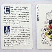 Standard �Park Lane Hotel Apartments (Tapestry Room)� Playing Cards, c.1926