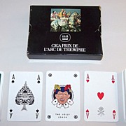 Double Deck Dal Negro �Prix de L�Arc de Triomphe� Playing Cards, c.1990