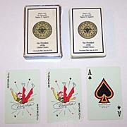 Brown & Bigelow �Dinner with the Honorable Spiro T. Agnew� Playing Cards, c.1970