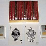 "2 Decks Waddington ""Sporting Birds Series"" Playing Cards � �Mallard� and �Pheasant�"
