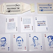 R. Billingsley �Politipack �88� Playing Cards, c.1988