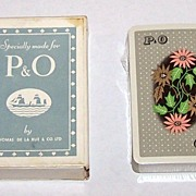 De La Rue �P&O� Maritime Playing Cards, c.1930s?