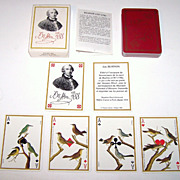 Grimaud �Jeu Buffon� Playing Cards, Jacques Hiver Designs, c. 1988