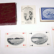 Niagara Playing Card Company �Niagara Falls Souvenir Cards,� c. 1901