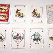 KZWP Birth of Motorization Playing Cards, Andrezej Radziejewski Designs, c.1985