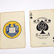 USPC Edison Mazda �Enchantment� Playing Cards, Maxfield Parrish Design, c. 1926