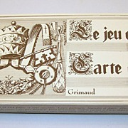 3-Deck Set Grimaud �Le Jeu des Papes� Playing Cards, Holy Year (Jubilee), 1983