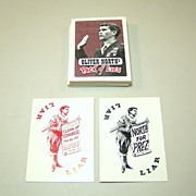 "�Oliver North Pack of Lies� Playing Cards, Created by ""Clean Up Congress,"" c.1994"