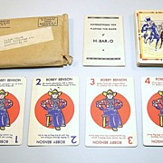 H-Bar-O Ranch �H-Bar-O� Card Game(s), Bobby Benson Radio Show, c.1930s