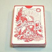 USPC �The President�s Deck� Playing Cards, Alfabet, Inc. Publisher, c.1972