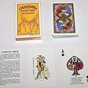 Historic New Orleans Collection �Carnival Deck� (Mardi Gras) Playing Cards, Maker Unknown, Rep