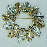 Sarah Coventry Garland Brooch