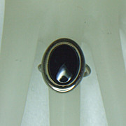 Sarah Coventry Jet Elegance Ring