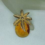 Sarah Coventry Autumn Haze Brooch
