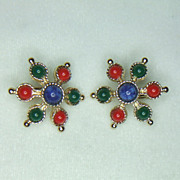 Sarah Coventry Carnival Earrings