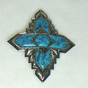 Sarah Coventry Inca Brooch