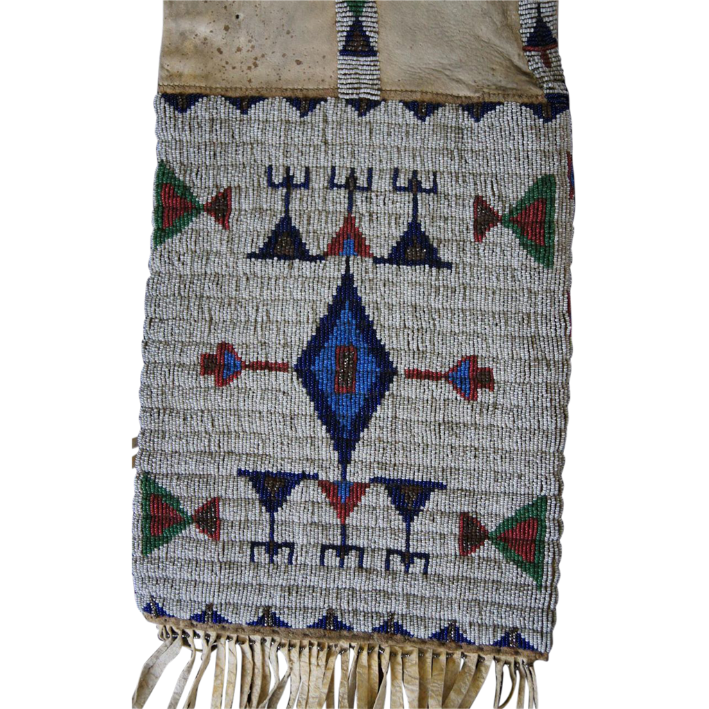 Northern Arapaho Pipe Bag  1880's
