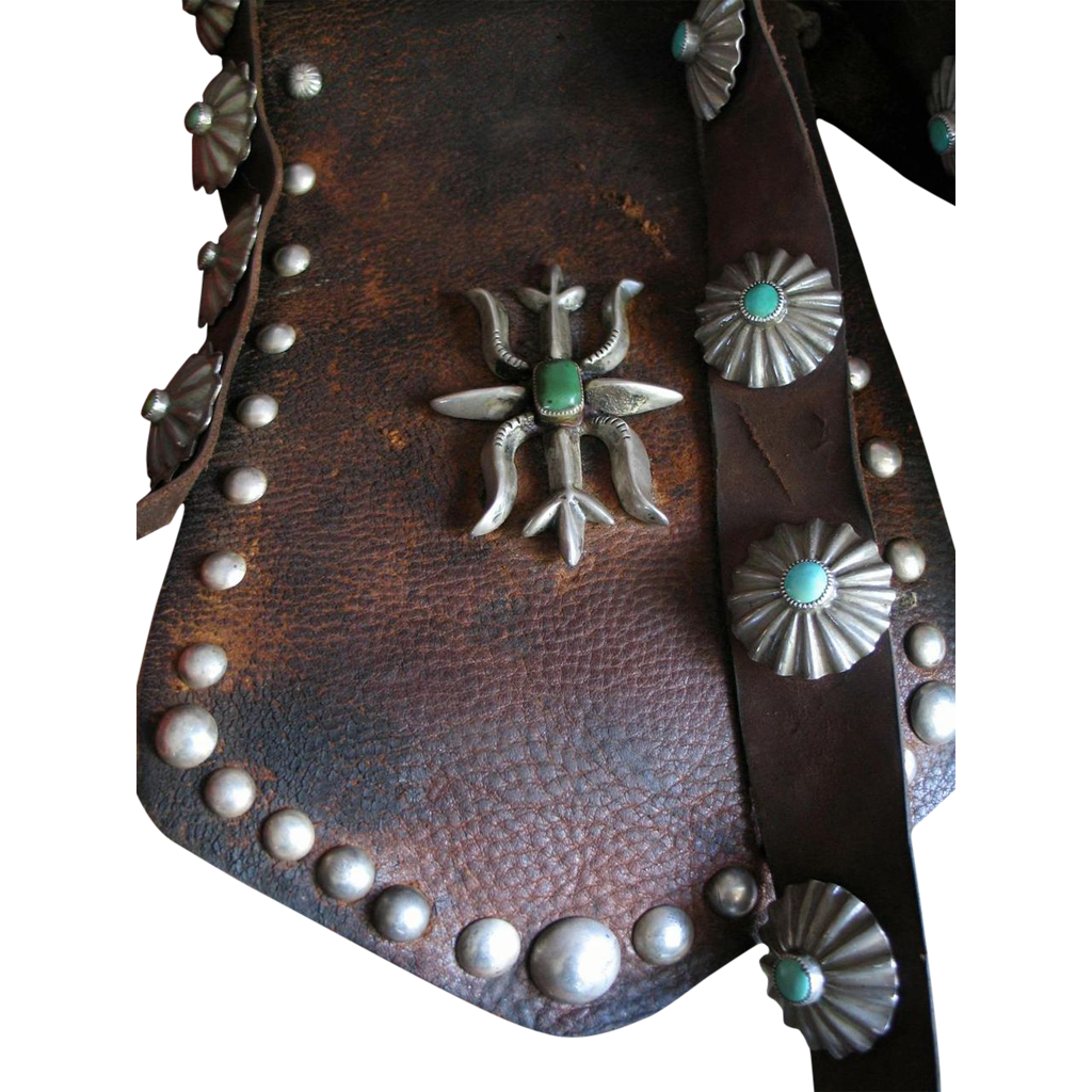 Early 1900's Navajo Bandolier Bag