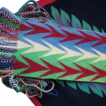 Omaha Indian Beaded Wool Dance Sash