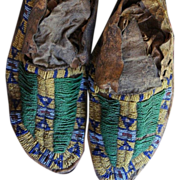 1870's Cheyenne Moccasins
