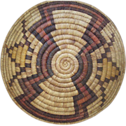 Hopi Coil Basket 1940's