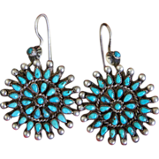 Vintage Zuni Earrings
