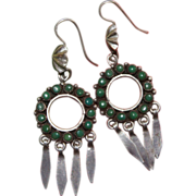 Zuni Snake Eye Earrings