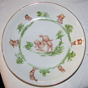 Germany 1912 Rose O'Neill Kewpie Cereal or Serving 8&quot; Bowl