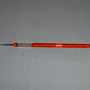 SALE Vintage Glass Writing Pen