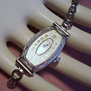 Vintage Art Deco Bulova 15 Jewel Ladies Wrist Watch