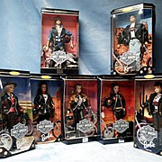 SALE Rare Set of Harley Davidson Barbie and Ken Dolls LIMITED EDITION