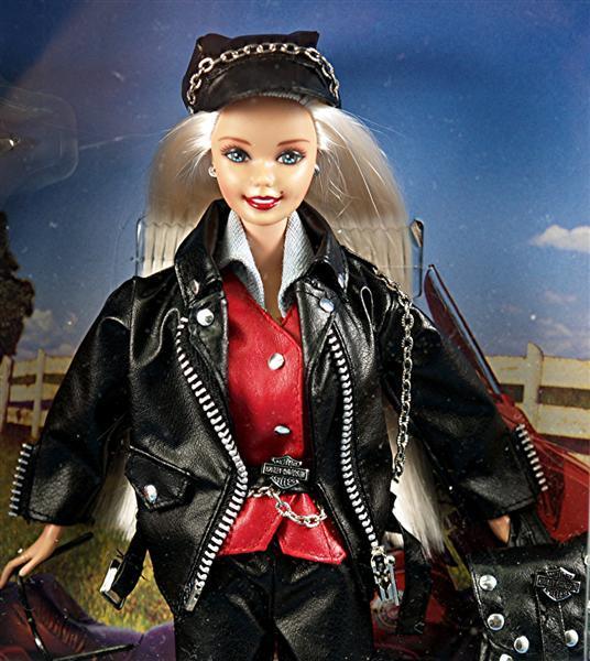 Rare Set of Harley Davidson Barbie and Ken Dolls LIMITED  : SB 4012L from www.rubylane.com size 536 x 600 jpeg 62kB