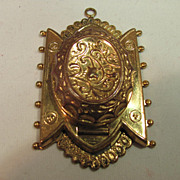 SALE Brass Pendant Locket