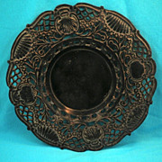SALE Rare Antique Japanese Bronze Trivet Maru Arare-Circa 1820-1860