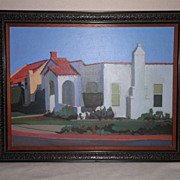 Matched Pair California Plain Air Paintings-#1-1992