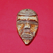 West Coastal African Miniature Mask-Circa 1930-1950