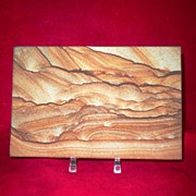 Pictorial Sandstone Display of Hillsides-Precisely cut Natural Stone