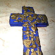 Traditional Mexican Milagros Talisman Crucifix-1992