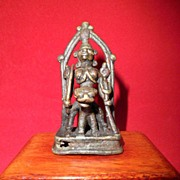 SALE Ancient Indian Bronze of Goddess Kali-Circa 14th century