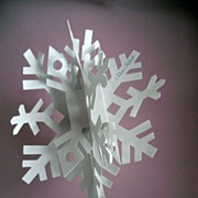 Unique Store Display Robert Sabuda POP UP Book Snowflake