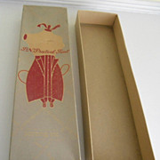Fabulous Antique Woman's Sarong Corset Clothing Box